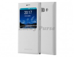 Чехол-книжка для Samsung Galaxy A3 (белый)