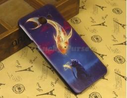 "Чехол-бампер для Samsung Galaxy A8 ""Gold fish"""