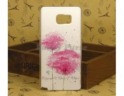 "Чехол для Samsung Galaxy Note 5 ""Pink flowers"""